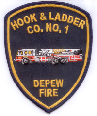Depew Hook & Ladder Co Patch